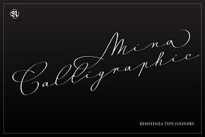 Mina Calligraphic