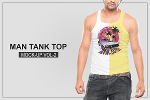 Mens Tank Top Mockup Vol-2
