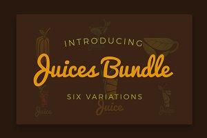 Juices logo bundle