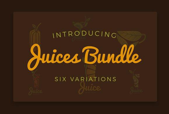 Juices Logo Bundle