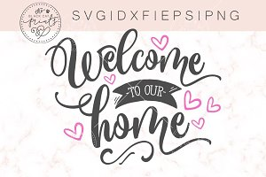 Welcome to our home SVG DXF PNG EPS