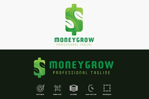 Money Grow Finance Logo