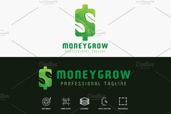 Money Grow Finance Logo