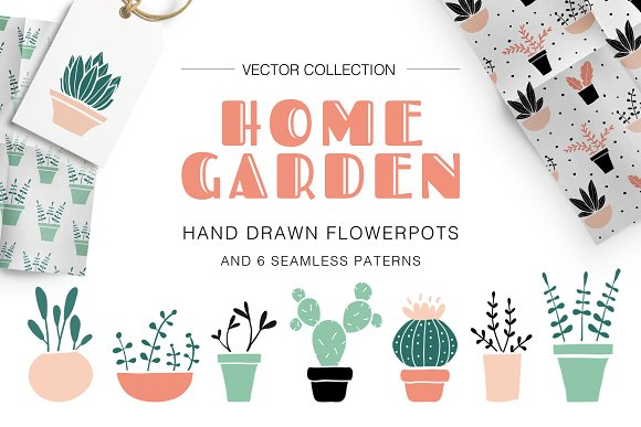 HOME GARDEN Vector Collection