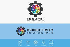Productivity Industrial Logo