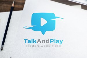 TalkAndPlay - Logo