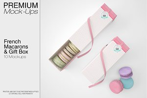 French Macarons & Gift Box Set
