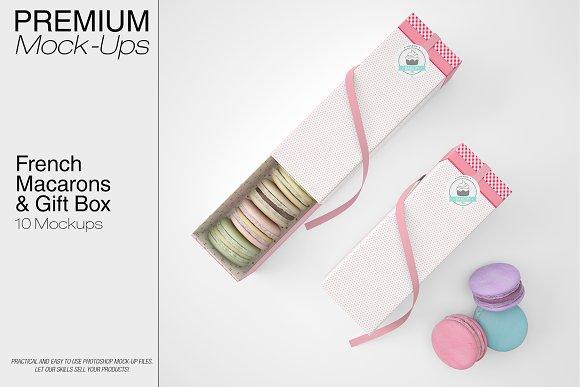 French Macarons Gift Box Set