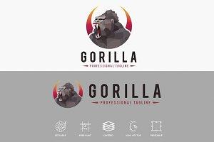 Gorilla Polygonal Logo