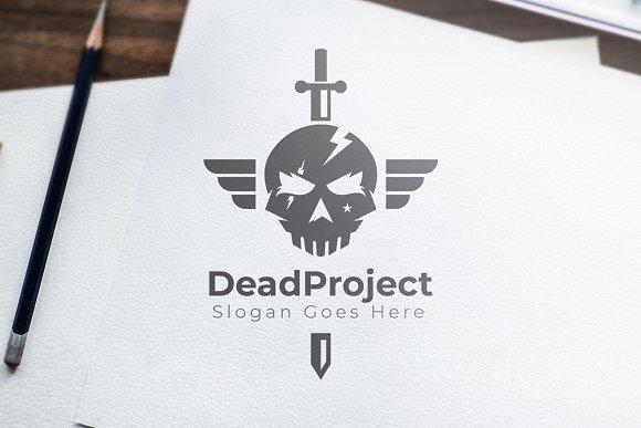 Skull Army Sword Dead