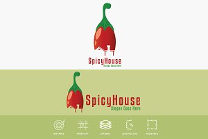 Spicy House Restaurant Logo