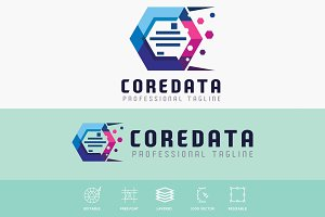 Core Data Hexagonal Logo