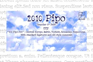 2010 Pipo Pro Set OTF