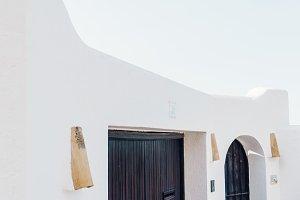 White house facade mediterranean