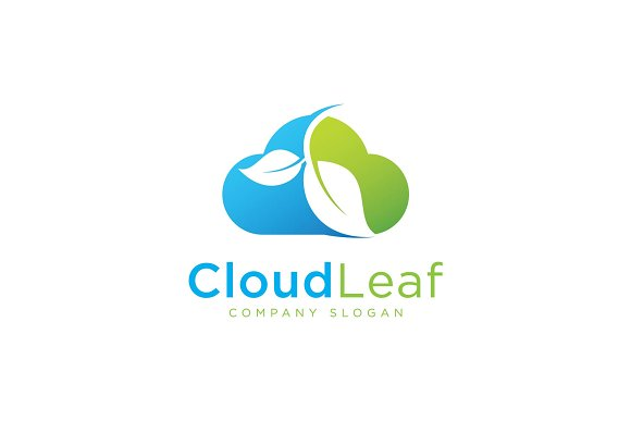 Cloud Leaf Logo