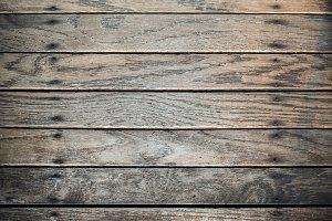 Worn Wood Flooring
