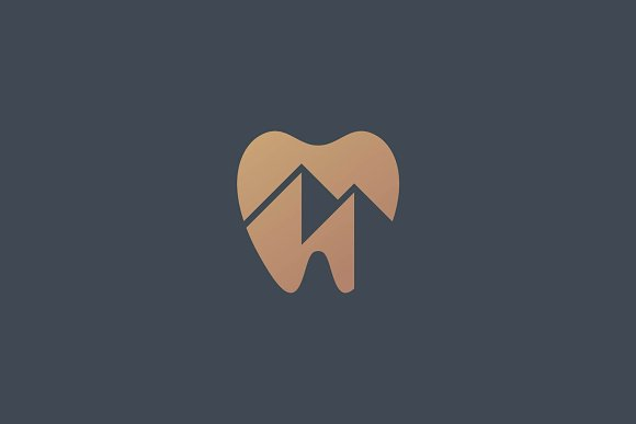 Dental Mountain Logo
