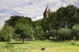 Church tower Giessen-Oudekerk