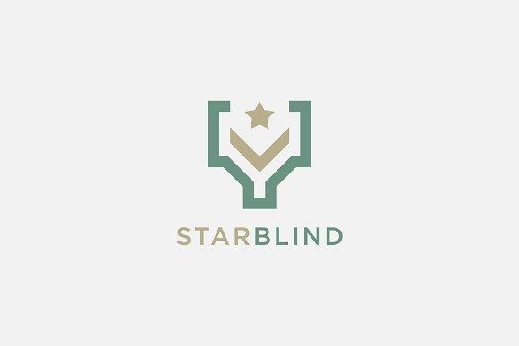 Letter Y Star Logo