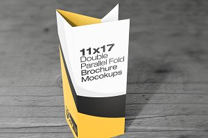 11×17 Double parallel Fold Mockups