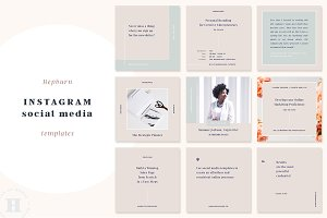 Hepburn Instagram Post Templates