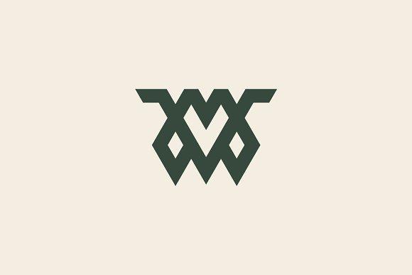 Premium Letter MV Logo