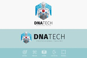 DNA Human Technology Logo