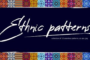 Ethnic patterns. Collection.