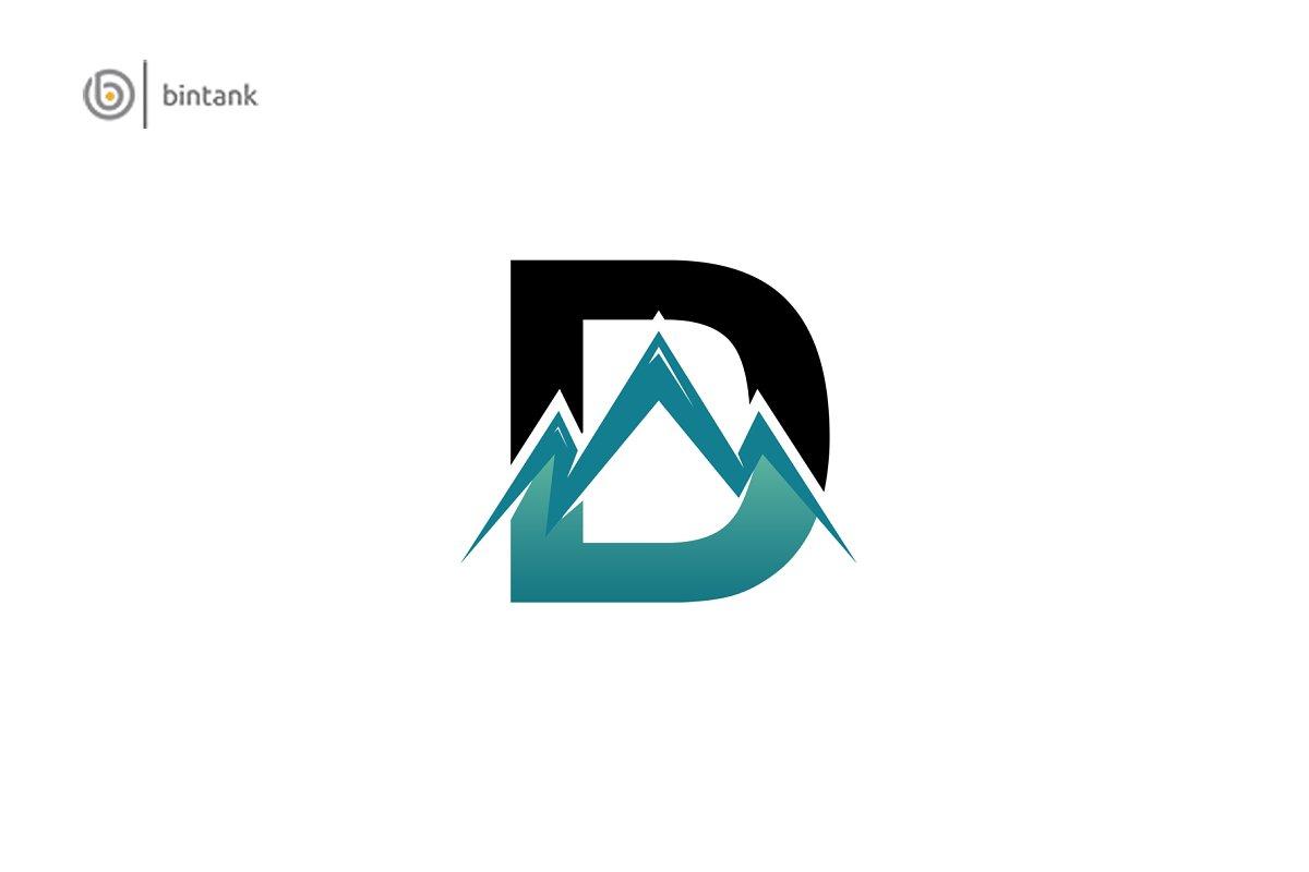 D Logo - Mountain Symbol