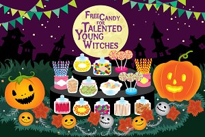Free Candy for Talented Young Witch