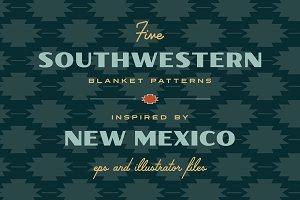 Five Southwestern Patterns