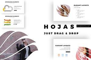 HOJAS Premium PowerPoint Template
