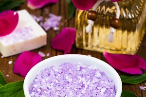 Purple Peony Rose Bath Salt