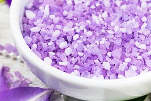Clematis Salt for Aromatherapy