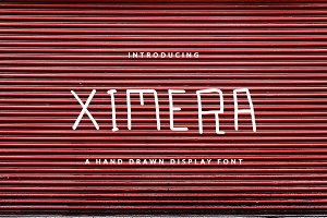 XIMERA DISPLAY FONT FOR HEADER