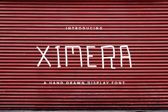 XIMERA DISPLAY FONT FOR HEADER