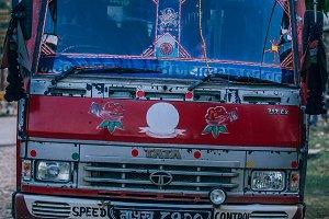 Retro TATA Bus