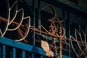 Stunning Om Metal Symbol