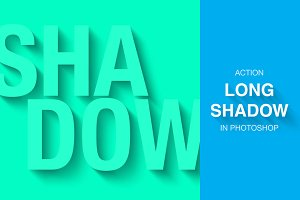 Long SHADOW | Photoshop Action