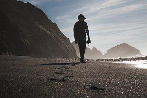 Big Sur - Black Sand Beach