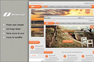 Micheal Design HTML Template