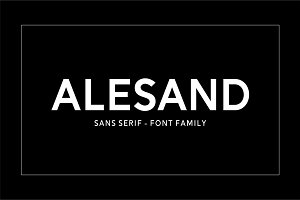 Alesand (7 Fonts)