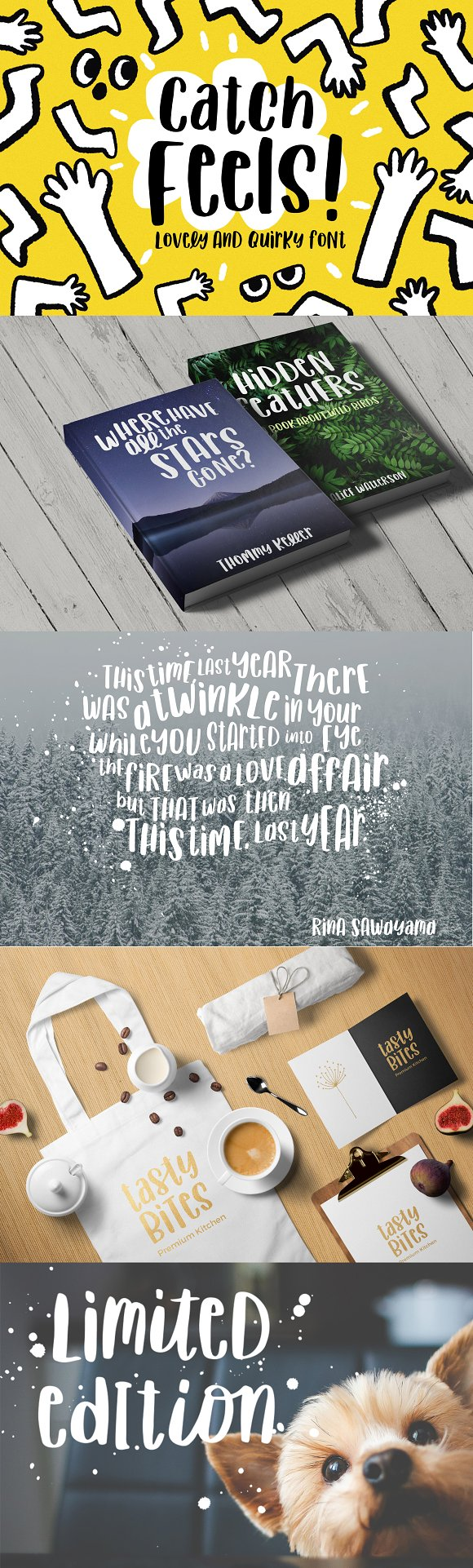 Catch Feels Lovely And Quirky Font