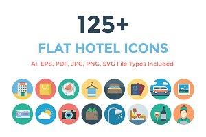 125+ Flat Hotel Icons