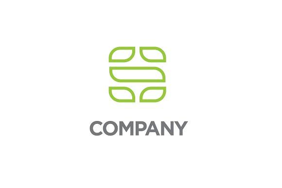 Line Letter S Logo