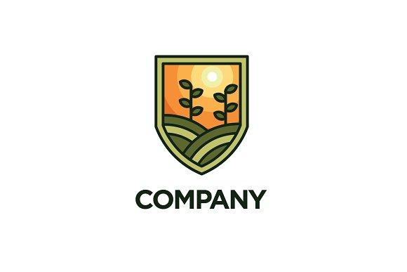 Modern Farm Logo