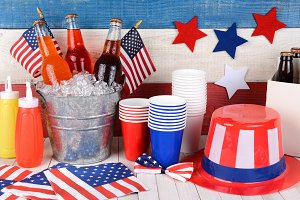 Fourth of July Still Life