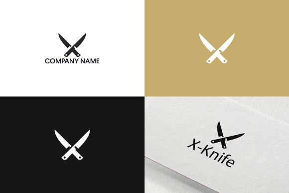 Knife Logo Design