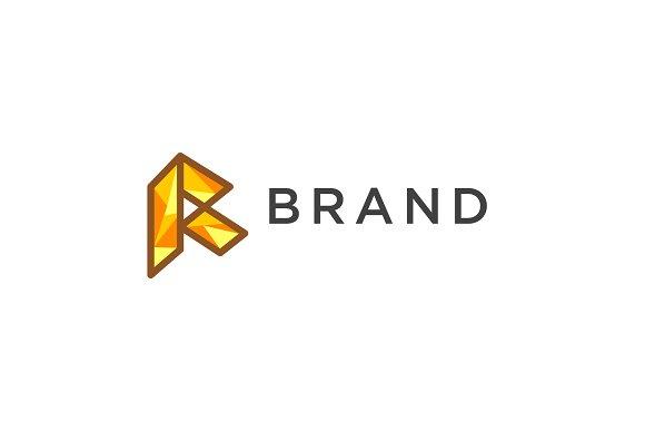 Modern Letter R Logo