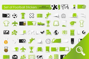93 FOOTBALL stickers